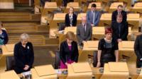 MSPs in Holyrood's debating chamber