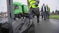 Birmingham refuse workers