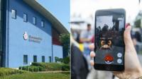 Gloucestershire Police HQ and Pokemon Go game