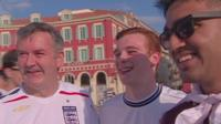 England fans in Nice