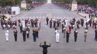 French military band