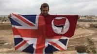 A British man from London has told the BBC he's going to fight against Turkish forces in Syria.