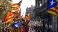 Spain's government has stepped up efforts to halt an independence vote in Catalonia they call illegal.