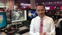 BBC Weather's Matt Taylor
