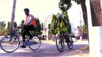 Cycling in Dar es Salaam