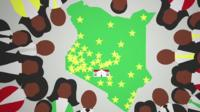Kenya election 2017 graphic