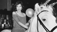 One of Rose Hartman's photographs of Bianca Jagger