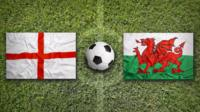 England and Wales flags