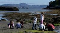 Isle of Muck pupils