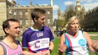 Alun Cairns, Dan Jarvis and Amanda Solloway
