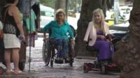 Using a wheelchair in Rio