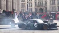 Top Gear filming at St Paul's Cathedral