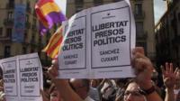 Protests in Barcelona