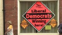 Liberal Democrat posters