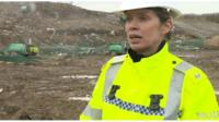 Police investigating the disappearance of RAF airman Corrie Mckeague are focused on a landfill site.