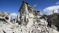 Amatrice, after the earthquake