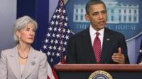 Sebelius and Obama