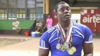 George Wyndham is the only Sierra Leonean competing at the 2016 Paralympic Games in Rio, but his only home is an office in the national stadium.