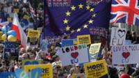 People in London, Rome, Berlin and other cities mark 60 years since the Treaty of Rome was signed.