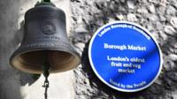 The Borough Market bell