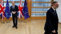 European Council President Donald Tusk & Sir Tim Barrow