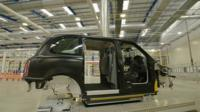 The new production line at Anstey, Coventry