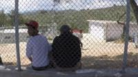 Migrants stranded in Greece