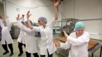 Dancing bakers