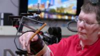 Bill Kochevar was paralysed from the shoulders down in a bicycle accident, but neuroprosthesis means he can feed himself again.