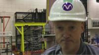 Gareth Jackson, senior production technician