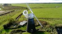 Mutton's Mill on the Norfolk Broads