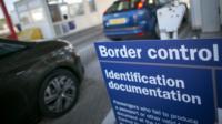 Border Force At work At UK ports