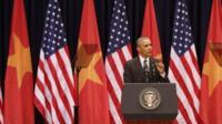 Barack Obama in Hanoi