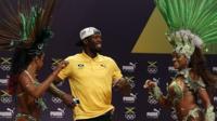 Bolt's Rio carnival press conference