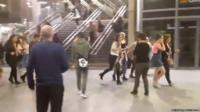 Fans at Manchester Arena
