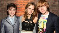 Emma Watson, Daniel Radcliffe and Rupert Grint