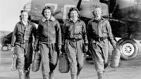 WASPs in uniform