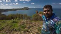 An Aboriginal Sea Ranger, Queensland, Australia