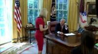 RTÉ's Washington Correspondent Caitríona Perry met Donald Trump