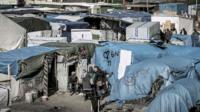 Calais migrat camp