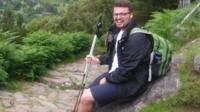 Ben Conway on mountain