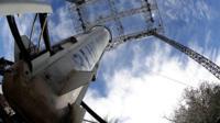 Blue Origin New Shepard rocket booster