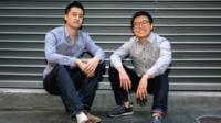 Tim Fung and Jonathan Lui, founders of Airtasker