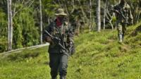 ELN commander January 26, 2017, in Alto Baudo, department of Choco, Colombia