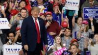 President Trump in Pennsylvania