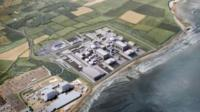 Artist's impression of Hinkley Point