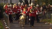 Remembrance Service in Cardiff
