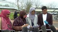Makram Ali's family