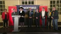 Key wins for Labour on election night