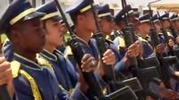 Libyan military band